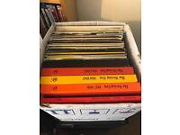 Job lot of 44 vinyl records for sale. Some Nice LP records