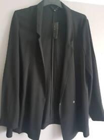 Black blazer size 12from new look brand new.