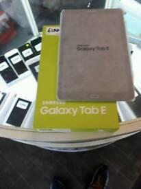 Samsung tab e 10inch New black