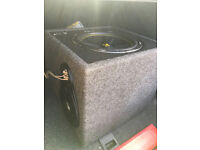 Car subwoofer, Kicker sub, compact size very powerful, £60 !!!!