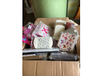 Massive Job Lot of Craft Items, Gift Bags, Card Embellishments, Ribbons, Jewellery, Charms, etc
