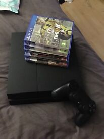 PS4 &a games (great condition)