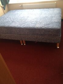 Used - Double Bed (Base & Mattress)