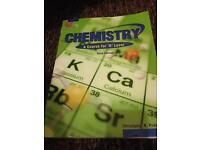 Chemistry 'o' level book