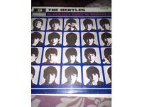 Beatles.vinyl record,LP.a hard days night.