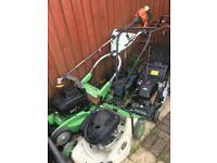 4 Petrol Lawnmower and strimmer spare or repair