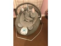Apollo Baby bouncer chair with music book