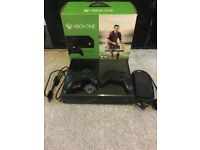 Xbox One Black 500GB with 2 Controllers - In Original Box