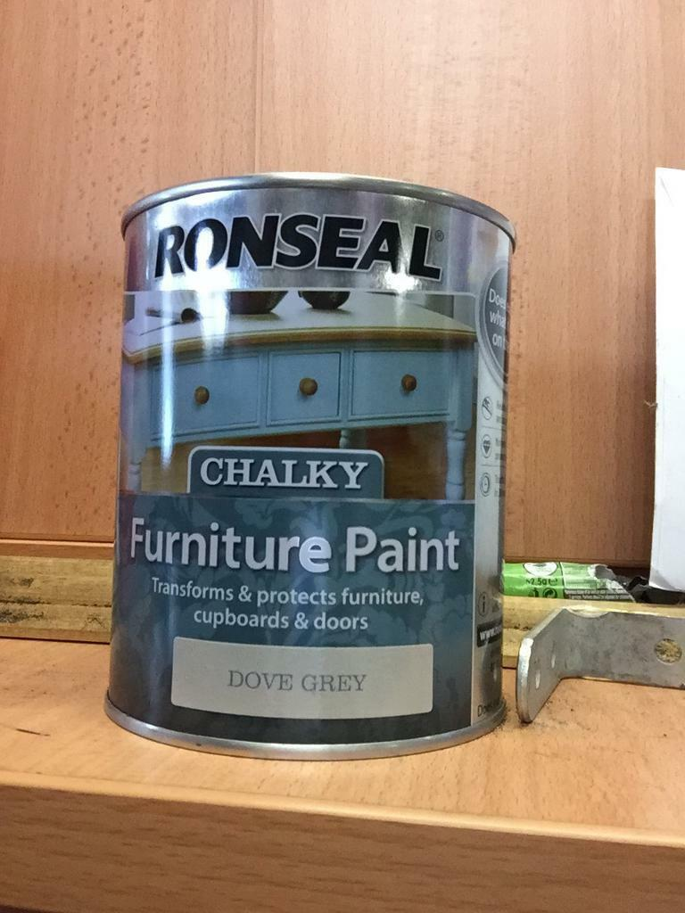 Ronseal chalky furniture paint ronseal - Ronseal Chalky Furniture Paint Dove Grey