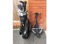 Golf Club set + trolley