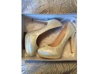 Sparkly Heels Size 5