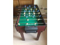 Multi games table incl pool, table football, table tennis