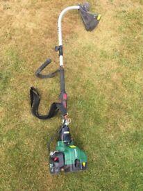 Qualcast grass trimmer 29.9cc 40 cm cutting width Model CDB30a.