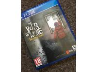 This War Of Mine for the PlayStation 4