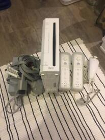 Nintendo Wii and 5 games