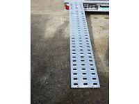 Car Trailer Ramp Galvanised Steel 200cm Long PAUL TRAILERS LTD
