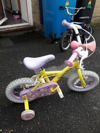 Daisy 12' girls bike