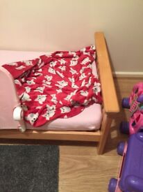 Cot bed immaculate condition with mamas and papas mattress practically brand new!