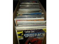 Comic book bundle( 150 comics, X-Men, spiderman, daredevil etc)