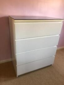 Ikea drawers white