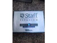 For Sale - Wilson Staff Titanium Golf Balls Distance 90 Brand New