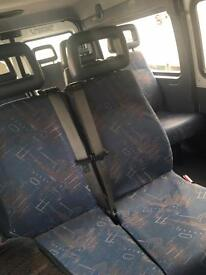 Mini bus seats with belts from LDV CONVOY