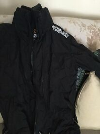 Superdry Black Jacket Size M Very Good Condition