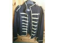 Goth Military Alt jacket Blacklist brand size M. worn only once
