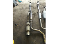 honda civic ej6/ej8 full stainless steel exhaust system sports cat