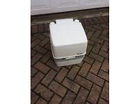 Porta potty caravan/camping toilet
