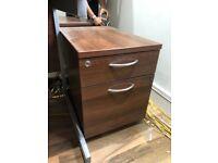 2 Drawer Desk Peds