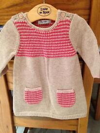 2 x baby girl jumper dresses