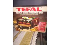 Vantage Tefal Compact Portable Electric Cooker