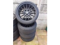 Bmw 18'' Single Spoke 18'' Black Alloys Style 32 Can Sell Single Can Post Part Exchange Welcome