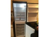 FRIDGE FREEZER TALL/BLACK