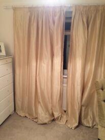 Laura Ashley silk curtains