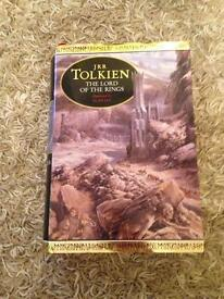 Lord of the rings hardback by Alan Lee