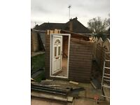 Large size garden shed