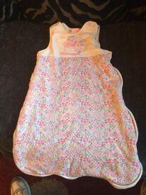 Bebe bonito sleeping bag - girl 6-12 months butterfly