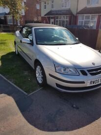 Saab 9-3 convertible 2006, lovely example £1590.00
