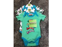 2 pack baby's vests new with tags