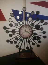 Art decor clock