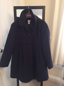 monsoon girl coat 11-12 yrs excellent condition