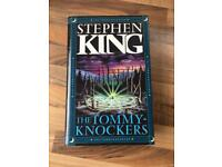 UK first edition of Stephen King's The Tommyknockers 1988.