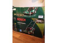 Bosh lawnmower. Only used twice