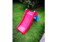 Toddler slide Red & Blue