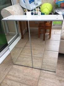 "Ikea ""Lillangen"" Mirrored Bathroom Cabinet"