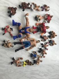 20 wrestling figures
