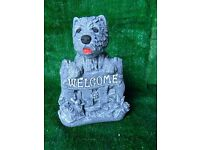 concrete dog ornaments cats windmills bird baths benches statues lorries