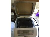 Panasonic Breadmaker with flour and yeast